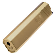 Big Dragon Airsoft OS 45-K Aluminium Mock Suppressor 14mm- Dark Earth