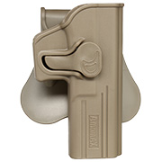 Amomax Tactical Holster Polymer Paddle für Glock 17 / 22 / 31 Rechts Flat Dark Earth