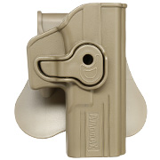 Amomax Tactical Holster Polymer Paddle für Airsoft G-Modelle Rechts Flat Dark Earth