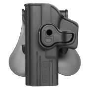 Amomax Tactical Holster Polymer Paddle für Airsoft G-Modelle Links schwarz