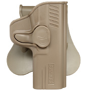 Amomax Tactical Holster Polymer Paddle für S&W M&P 9mm Rechts Flat Dark Earth