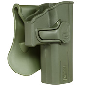 Amomax Tactical Holster Polymer Paddle für CZ P-07 / CZ P-09 Rechts oliv