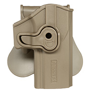 Amomax Tactical Holster Polymer Paddle Sig Sauer P320 Rechts Flat Dark Earth