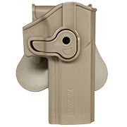 Amomax Tactical Holster Polymer Paddle Sig Sauer P320 Full Size Rechts Flat Dark Earth