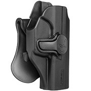 Amomax Tactical Holster Polymer Paddle für Walther P99 Rechts schwarz