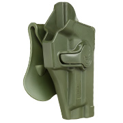 Amomax Tactical Holster Polymer Paddle für Sig Sauer P220 Serie Rechts oliv