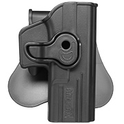 Amomax Tactical Holster Polymer Paddle für Airsoft G-Modelle Rechts schwarz