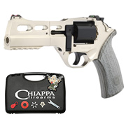 BO Manufacture Chiappa Charging Rhino 50DS Revolver Vollmetall CO2 6mm BB silber - Limited Edition