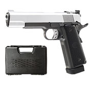 Well M1911 Hi-Capa 5.1 TAC1 Vollmetall CO2 Blowback 6mm BB Dual Tone inkl. Koffer