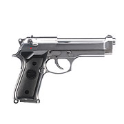 B&W Airsoft M9 Vollmetall GBB 6mm BB chrom