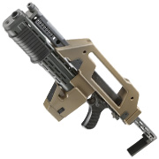 Snow Wolf M41-A Pulse Rifle S-AEG 6mm BB tan