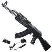 Cyma AK47 Tactical Softair Komplettset AEG 6mm BB schwarz