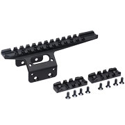 Action Army 21mm Aluminium Front Rail Kit 157 mm f. T10 schwarz