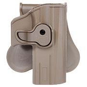 Strike Systems Holster Kunststoff Paddle für CZ P-07 / P-09 Pistolen Flat Dark Earth