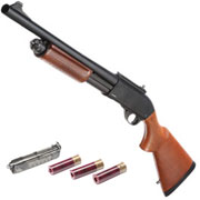 Golden Eagle M8870 Vollmetall Pump Action Gas Shotgun 6mm BB Echtholz-Version