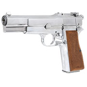 Wei-ETech M1935 Hi-Power Vollmetall GBB 6mm BB Chrome-Finish Edition