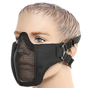 ASG Strike Systems Mesh Mask Airsoft Gittermaske Lower Face schwarz