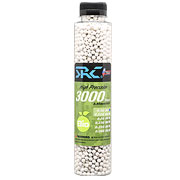 SRC High Precision Perfect Bio BBs 0,30g 3.000er Flasche weiss