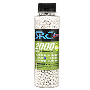 SRC High Precision Perfect Bio BBs 0,23g 2.000er Flasche weiss