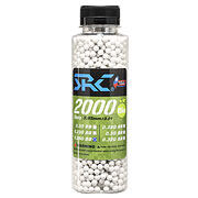 SRC High Precision Perfect Bio BBs 0,25g 2.000er Flasche weiss