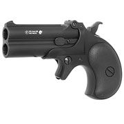 MaxTact Derringer Double Barrel Vollmetall Gas 6mm BB schwarz