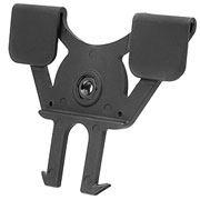 Strike Systems Kunststoff Paddle Holster Molle Attachment schwarz