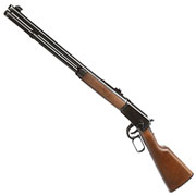 Legends Western Cowboy Rifle mit Hülsenauswurf Vollmetall CO2 6mm BB - Holzoptik Used Look