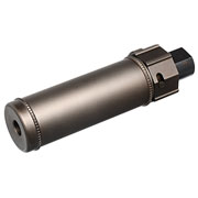 Nuprol BOCCA BOA Short QD Aluminium Suppressor bronze inkl. Stahl Flash-Hider 14mm-