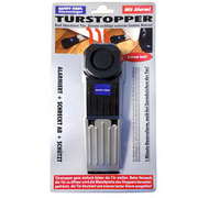 Safety First Alarm-Türstopper Türalarm inkl. LED-Batteriekontrolle schwarz