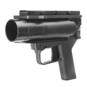 Mad Bull AGX 40mm Vollmetall Airsoft Pistolen-Launcher schwarz