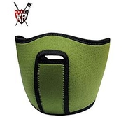 King Arms Neoprene Maske, oliv, Halb