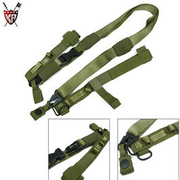 King Arms Tactical Assault Sling, Tragegurt 3-Punkt, oliv