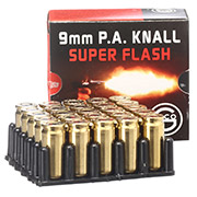 Geco 9mm P.A. Knallpatrone Super Flash 25 Stück
