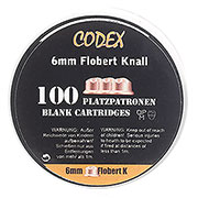 Codex Knallpatronen 6mm Flobert 100 Stück