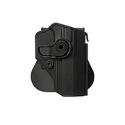 IMI Defense Level 2 Holster Kunststoff Paddle für Baby Eagle schwarz
