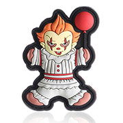 TacOpsGear 3D Rubber Patch Halloween Edition Pennywise Klettfläche