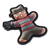 TacOpsGear 3D Rubber Patch Halloween Edition Freddy Nightmare Klettfläche