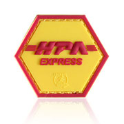JTG 3D Rubber Patch HPA Express Klettfläche