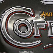 Nostalgic Art Blechschild Anatomy of Coffee