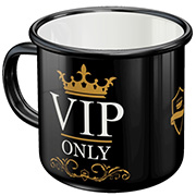 Nostalgic Art Emaille-Becher VIP Only