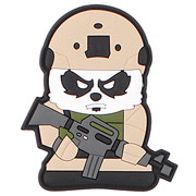 3D Rubber Patch Tactical Panda