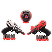 Tack Pro Shooter Set - 2 x 11 cm Duo Pocket Target inkl. 12 Pfeile