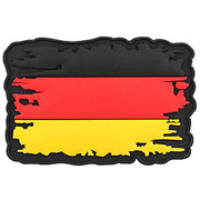 3D Rubber Patch Vintage Deutschland