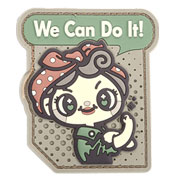 Mil-Spec Monkey 3D Rubber Patch We Can Do It Cute multicam