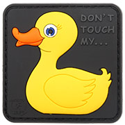 JTG 3D Rubber Patch Don´t Touch My Duck Klettfläche