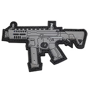 G&G 3D Rubber Patch ARP 9 Airsoft Sub Machine Gun grau