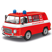 Cobi Youngtimer Collection Barkas B1000 Feuerwehr 151 Teile 24594