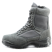 Mil-Tec Stiefel Tactical Boots YKK-Zipper urban grey