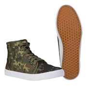 Mil-Tec Sneakers Military Style Ripstop Flecktarn