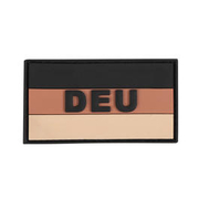 3D Rubber Patch Deutschlandflagge DEU khaki